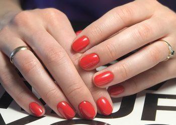 MariAnna_nails - manicure hybrydowy 1 kolor ( 1 warstwa bazy)