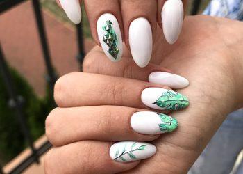 MariAnna_nails - manicure hybrydowy ze zdobieniem dużym