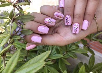 MariAnna_nails - uzupełnienie paznokci żel/akryl ze zdobieniem delikatnym