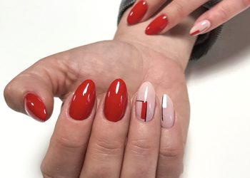MariAnna_nails - przedłużanie paznokci żel/akryl ze zdobieniem dużym