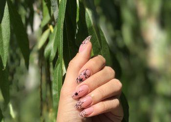 MariAnna_nails - uzupełnienie paznokci żel/akryl ze zdobieniem dużym