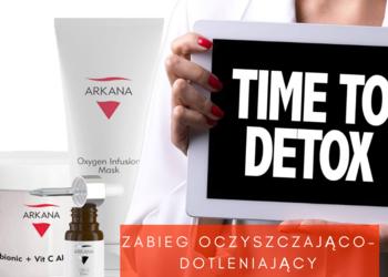 Studio Kosmetyczne URODOMANIA - zabieg oczyszczajaco-dotleniajacy detox