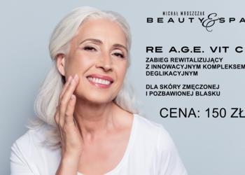 Salony fryzjerskie MICHAŁ MROSZCZAK Beauty&SPA - zabieg - re a.g.e. vit c
