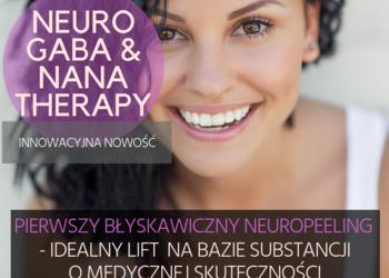 Studio Kosmetyczne URODOMANIA - neuropeeling nana & gaba błyskawiczny neuropeeling