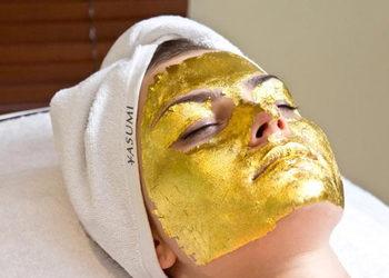 Yasumi Białołęka - złota maska - 24k gold mask treatment
