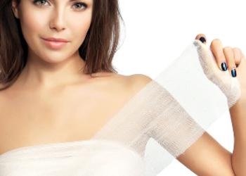 Yasumi Białołęka - hotai body wrap - modelowanie sylwetki bandażami - pakiet 6 zabiegów