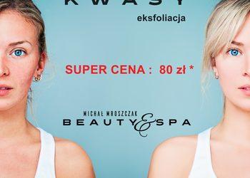 Salony fryzjerskie MICHAŁ MROSZCZAK Beauty&SPA - kwasy - promocja - eksfoliacja