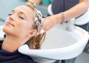 Annabel's SPA and Beauty Studios - mycie głowy / мытьё головы
