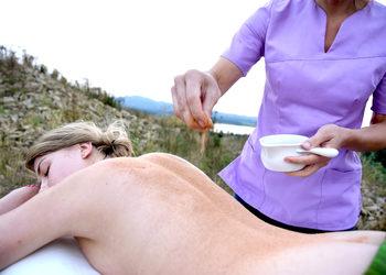 Energia dotyku Lazuri Dorota Bień - masaż redukujący (antycellulitowy) udvartana