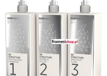 Tiffany's Secret - rekonstrukcja włosów morphosis re-structure