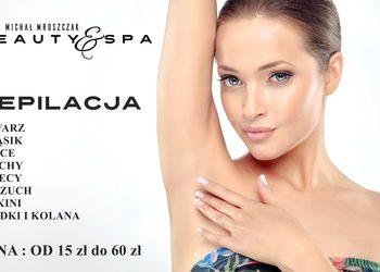 Salony fryzjerskie MICHAŁ MROSZCZAK Beauty&SPA - depilacja łydki + kolana