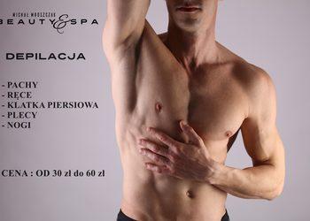 Salony fryzjerskie MICHAŁ MROSZCZAK Beauty&SPA - depilacja plecy