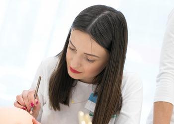 CLINIQMED - makijaż permanentny kontur ust z wypełnieniem