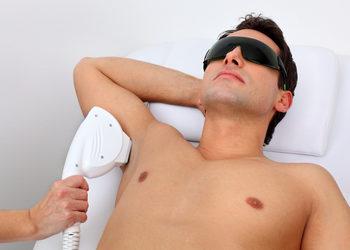 CLINIQMED - epilacja mężczyźni łydki/ klatka piersiowa/ brzuch