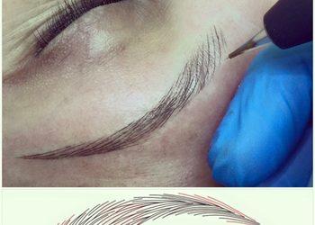 SALAMANDRA Beauty Clinic Bielsk Podlaski - rekonstrukcja łuku brwiowego po chemioterapii