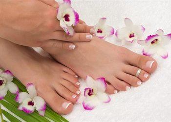 Visage Salon kosmetyczny - zabieg pielęgnacji stóp parafina
