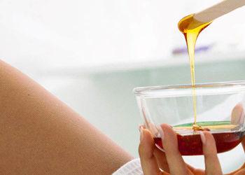 Visage Salon kosmetyczny - depilacja woskiem - łydki i kolana