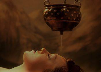 Energia dotyku Lazuri Dorota Bień - masaż głowy shirodhara 45 min