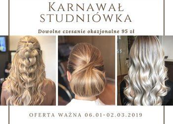 Salon fryzjerski For Hair - karnawał - studniówka 06.01-02.03.19