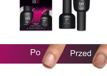 KLUB PIĘKNA Gabinet Kosmetyczny  - manicure lakier + ibx system (zabieg wzmacniający płytkę)