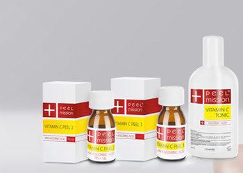 Klinika N-Symbiosis Med - zabieg - dodatek do zabiegu - witamina c peel