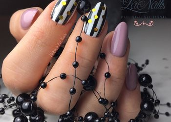 La Nails - uzupełnienie paznokci ze zdobieniami
