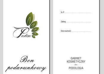 Gabinet Kosmetyczno - Podologiczny Paulina - bon  upominkowy