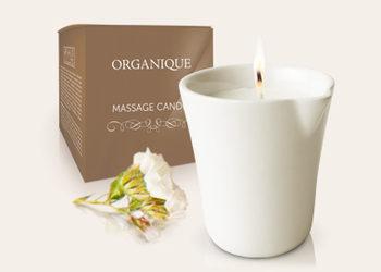 Instytut RevitaCare - masaż relaksacyjny świecą