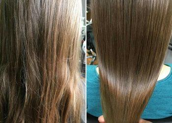 Farben - polerowanie włosów - włosy średnie