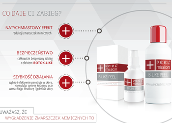 Gabinet Błogosfera  Zuzanna Welcz - botox-like peel