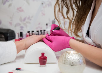 Nature4beauty - manicure hybrydowy ze ściągnięciem poprzedniego