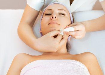 Instytut Kosmetologii Maeve - oczyszczanie twarzy + peeling mlekowy environ + maska