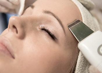 Twój Kosmetolog Aleksandra Wawro -Stalowe Magnolie Beauty Clinic Wawro&Chudzik - peeling kawitacyjny jako dodatek do zabiegów