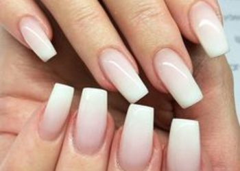 LILU HAIR&SPA - przedłużanie paznokci na szablonie - french/ babyboom