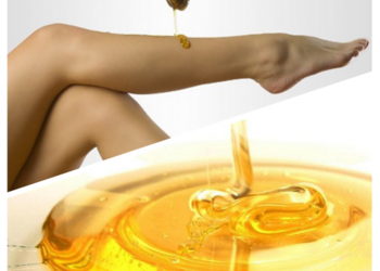 Annabel's SPA and Beauty Studios - sugaring łydki/uda (depilacja pastą cukrową)
