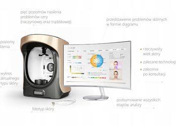 Instytut Kosmetologii Maeve - multispektralna diagnostyka skóry twarzy gen. 3.0