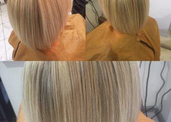TopHair - baleyage, pasemka włosy krótkie