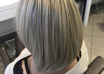 TopHair - baleyage, pasemka włosy średnie