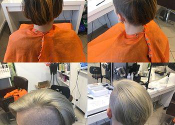 TopHair - dekoloryzacja+kolor włosów krótkich