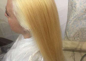 TopHair - dekoloryzacja+kolor włosów długich