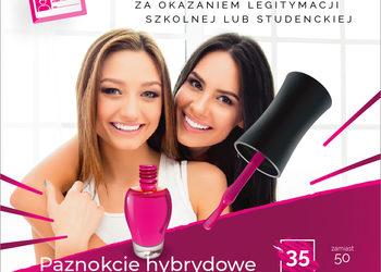 Glamour Instytut Urody - promocja studencka(02.01-14.01) - przedłużanie paznokci