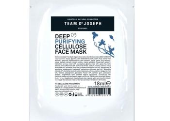 Centrum Kosmetyki DEVORA - celulozowa maska głęboko oczyszczająca