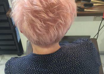 TopHair - farba 1 kolor włosy krótkie