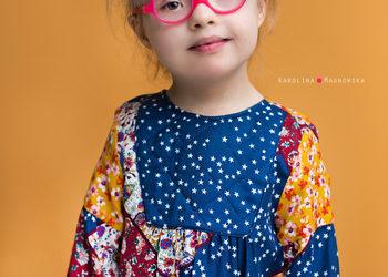Studio Fotograficzne Karolina Magnowska - portrety dziecięce kolorowe