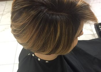 TopHair - farba+ombre, sombre wł krótkie