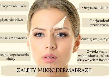 Angel Salon Kosmetyczny - mikrodermabrazja + maska + masaż twarzy
