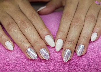 Angel Salon Kosmetyczny - utwardzenie paznokci bazą wzmacniającą  + hybryda