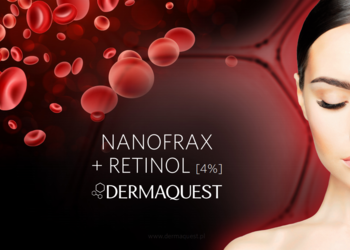 Salon Kosmetyczny Madame Katrina Clinica Estetica - dermaquest - nanofrax + retinol  [4%]