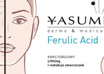 YASUMI SPA - kwas ferulowy - zabieg o dodatkowym działaniu mocno rozświetlającym [39]