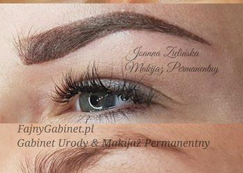 Fajnygabinet.pl - makijaż permanentny brwi ombre